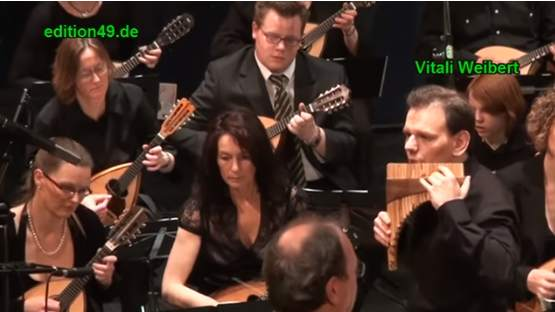 Pan Flute and Mandolin Orchestra