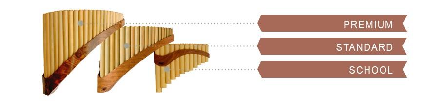 Pan Flute types