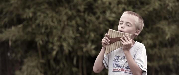School Pan flutes